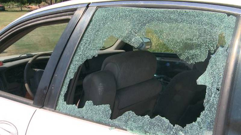 A bullet shattered a Stirum man's back window and stopped just inches from his head when it got...
