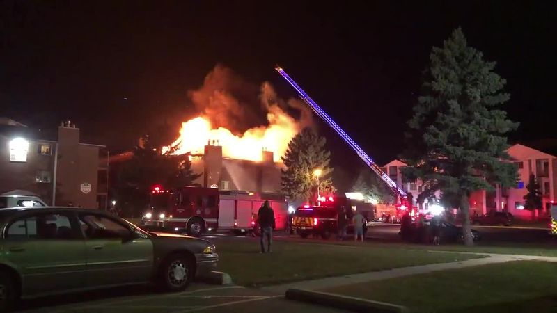 Crews battle overnight fire in Fargo