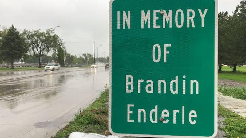 Enderle memorial Grand Forks