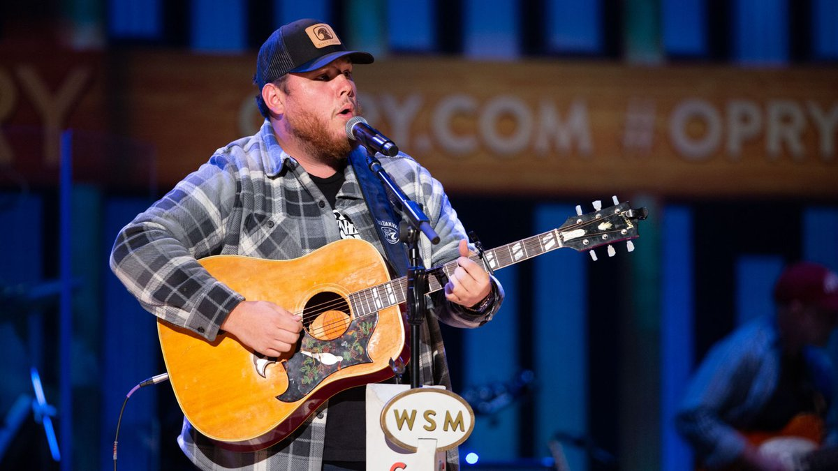 File: Luke Combs performs at the Grand Ole Opry on December 11, 2018.