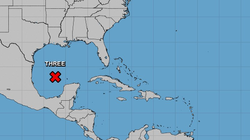 As of Thursday evening, the storm was located about 475 miles south of Morgan City, Louisiana,...