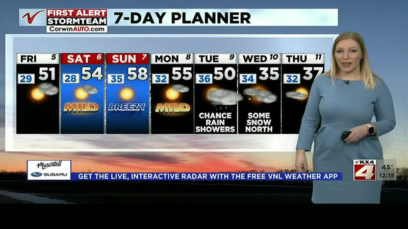 Noon Weather - March 5