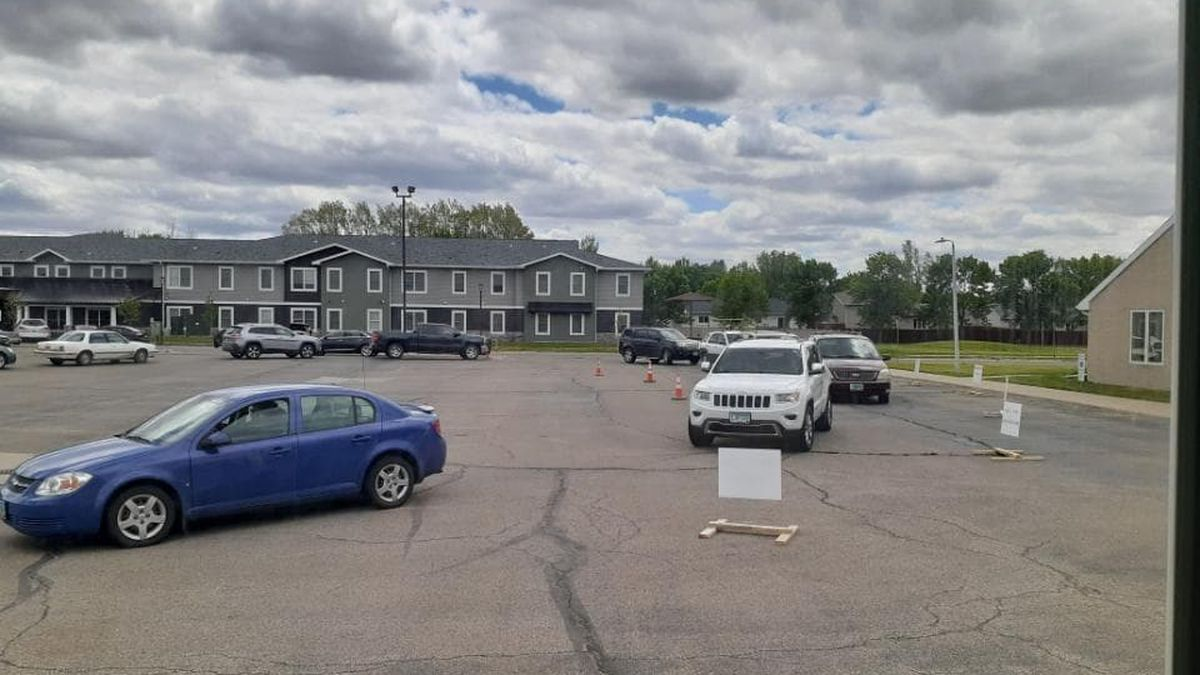 Families will come to south side of the church, located at 1402 16th Street East in West Fargo,...