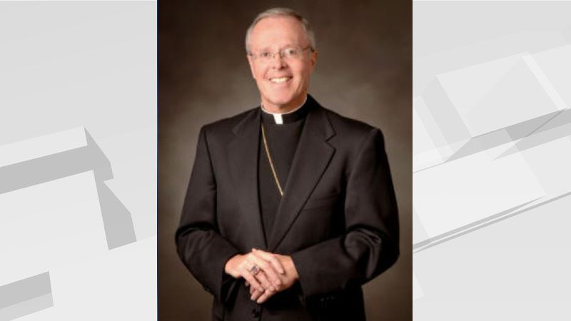 Bishop Michael Hoeppner resigns from post after request from Pope Francis.