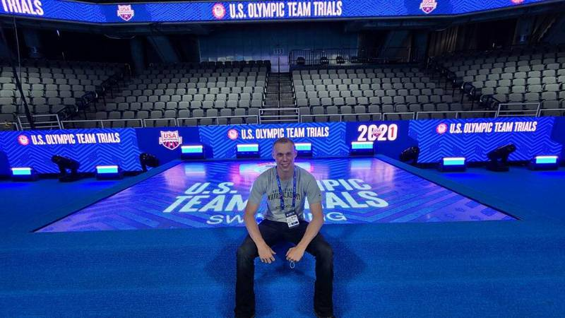 Anderson set to compete at Olympic Trials