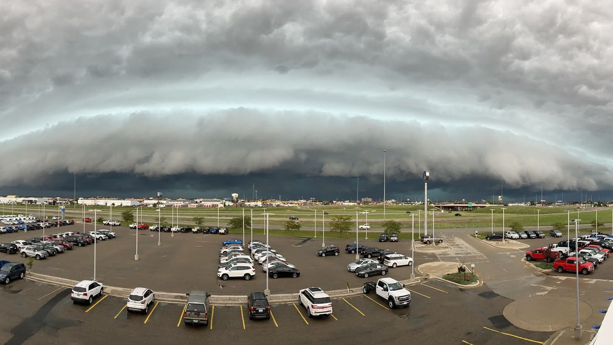 From the roof of Luther Family Ford beside your weather cam.