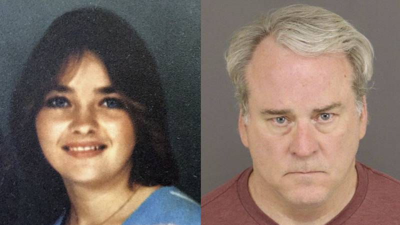 Michael Whyte (right) was convicted of murdering Army soldier Darlene Krashoc (left), 34 years...