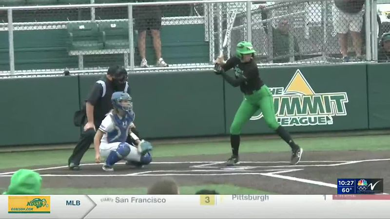 Sports - UND softball eliminated