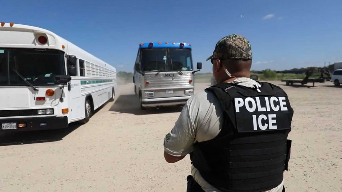 U.S. Immigration and Customs Enforcement will reportedly kick off massive raids targeting thousands of undocumented immigrants starting this Sunday. (Source: ICE/CNN)