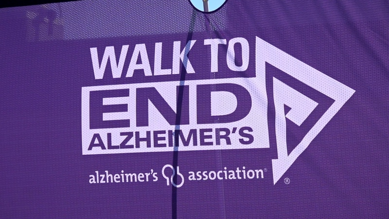 The 2021 Walk to End Alzheimer's gathered many at the Red River Valley Fairgrounds.