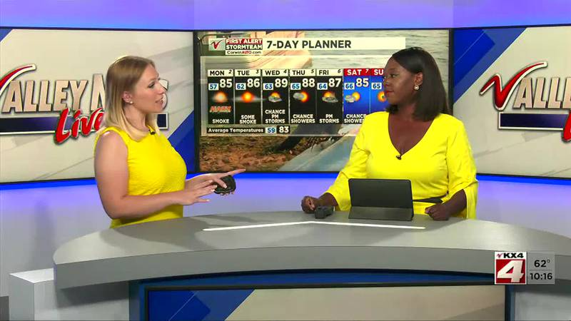 Valley News Live Weather at 10:00PM Sunday August 1