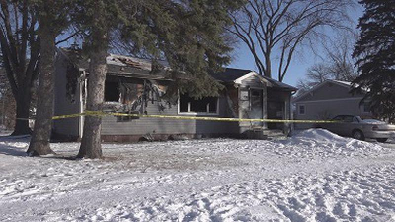 Moorhead fire destroys home