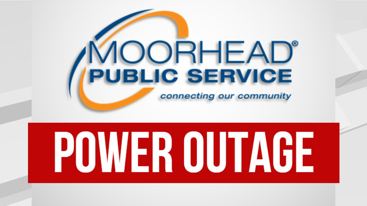 Moorhead Public Service Power Outage