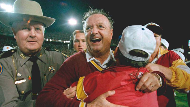 FILE - In this Jan. 1, 1994, file photo, Florida State University head football coach Bobby...