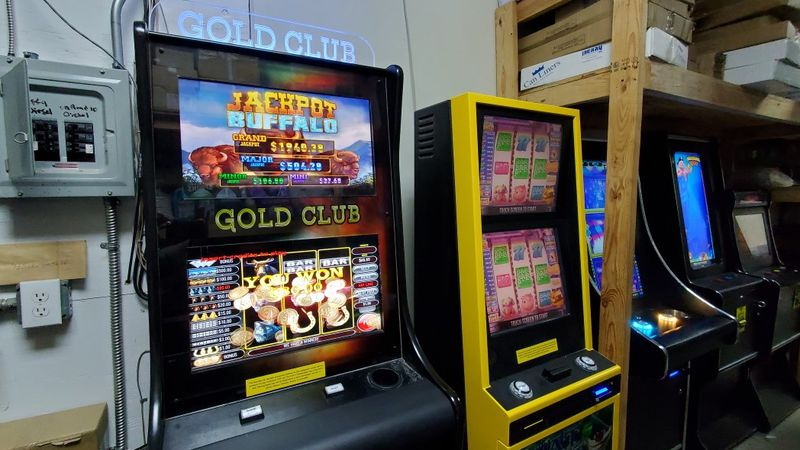 Tallassee police said they found multiple gambling machines inside the Marathon gas station at...