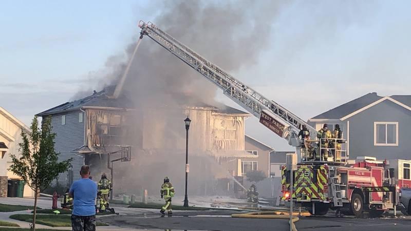 House fire in West Fargo