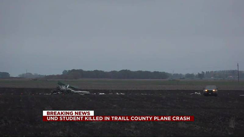 News - UND student pilot dies in plane crash near Buxton