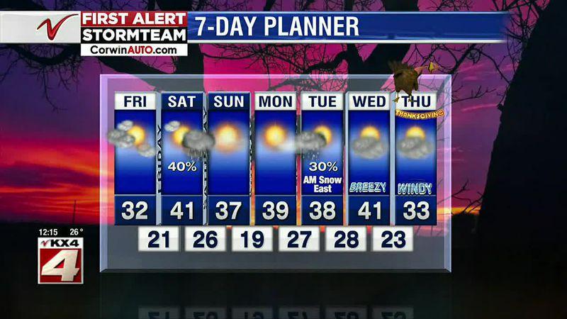 Weather - Noon Weather - November 20