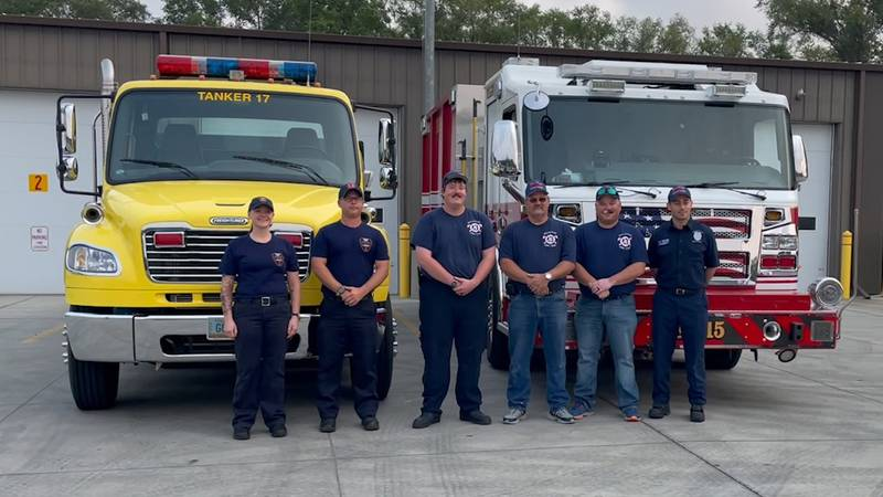 Now that cleanup is underway, some North Dakota firefighters are on their way to help.