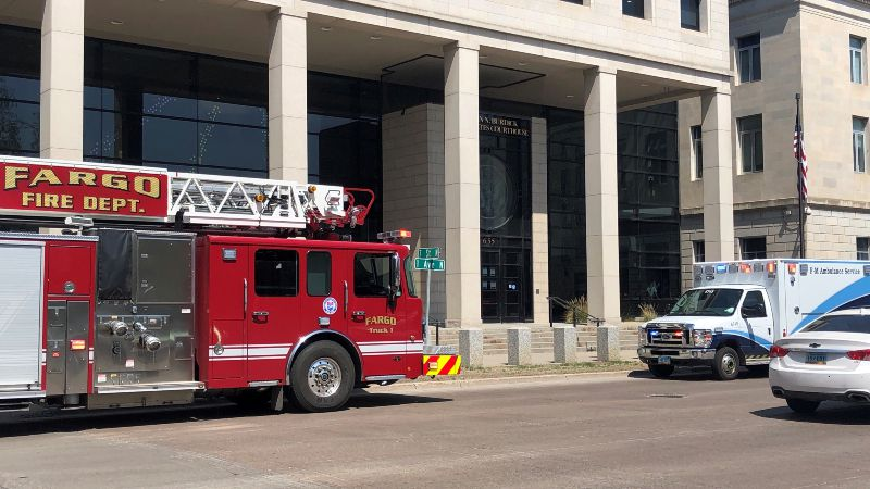 Federal Courthouse, 655 1st Ave. N. in Fargo, ND.