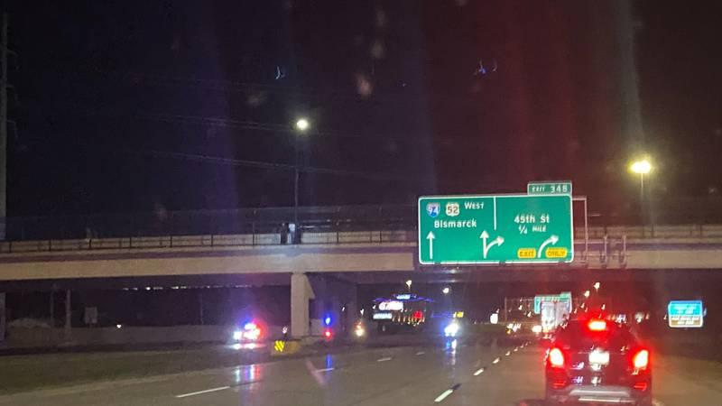 Police Presence on I-94
