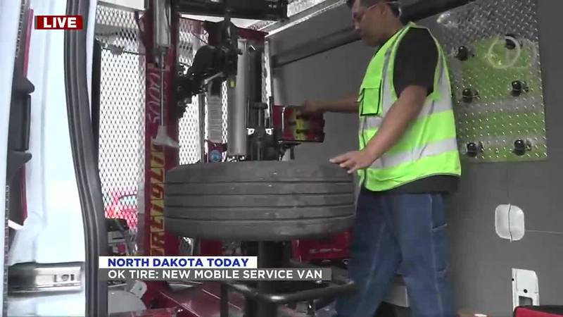 NDT - OK Tire Mobile Service Van - August 3