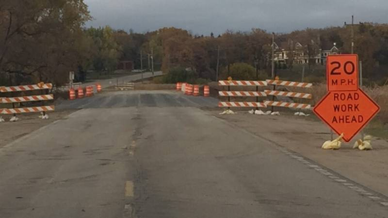The bridge is back open after months of construction.