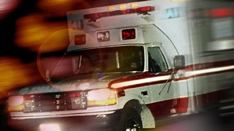 Generic photo of an ambulance.