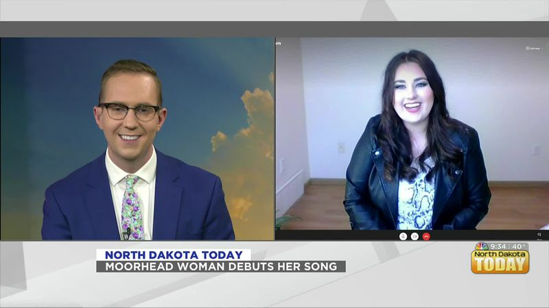 NDT - Moorhead Woman Debuts Her Song
