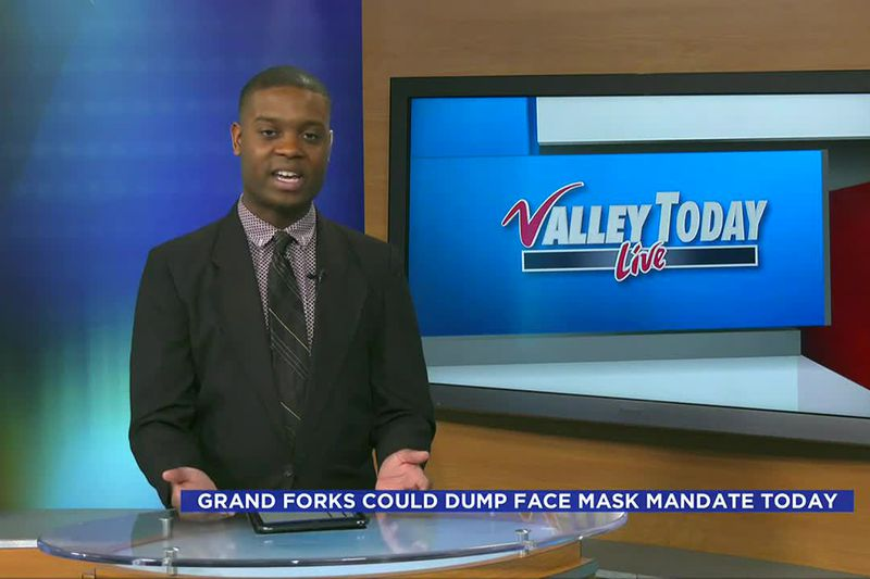 The City of Grand Forks could possibly remove their mask mandate today after two full weeks of...