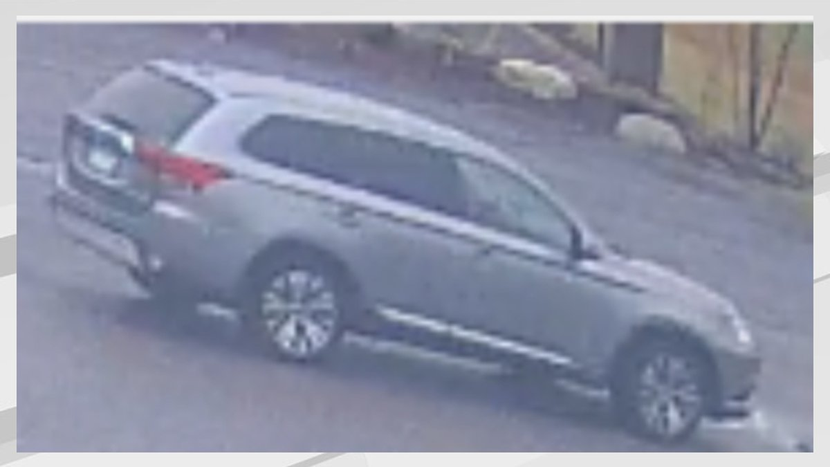 Police say this is the SUV in question in the case.