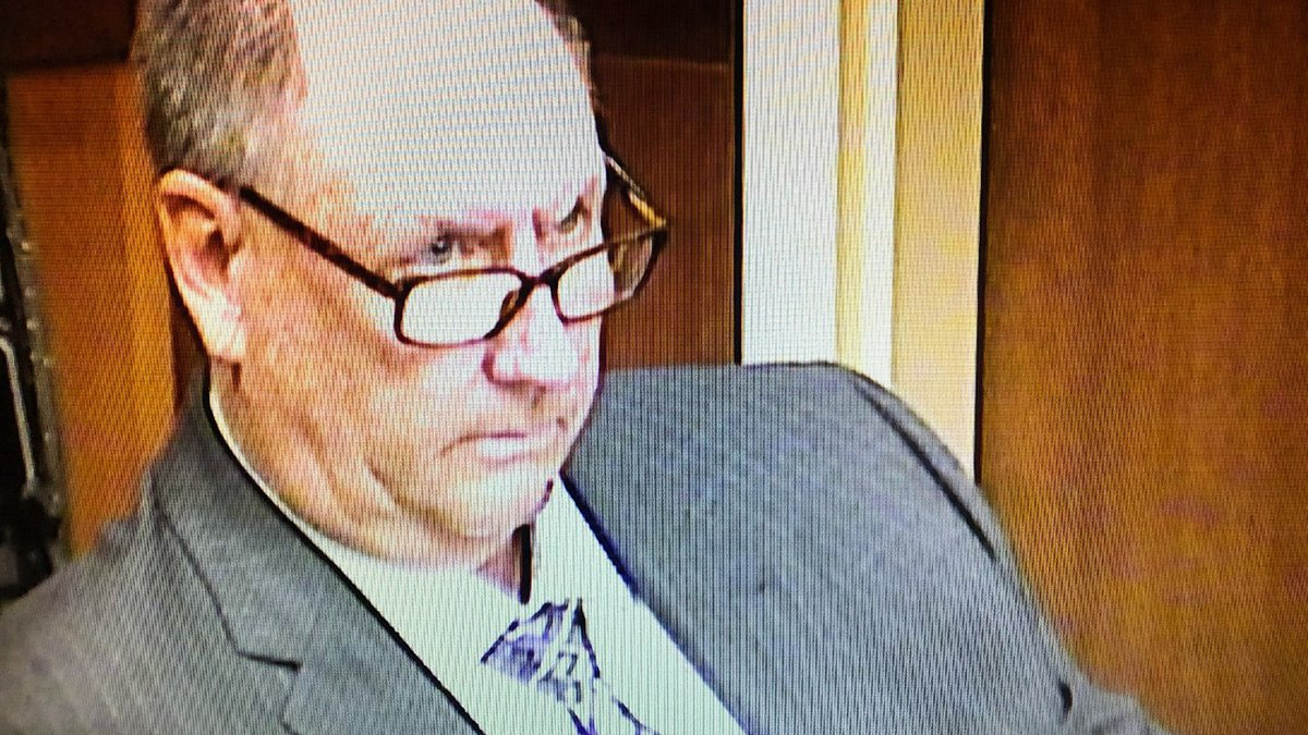 Ronald Thompson in court