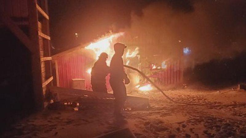 Henning fire