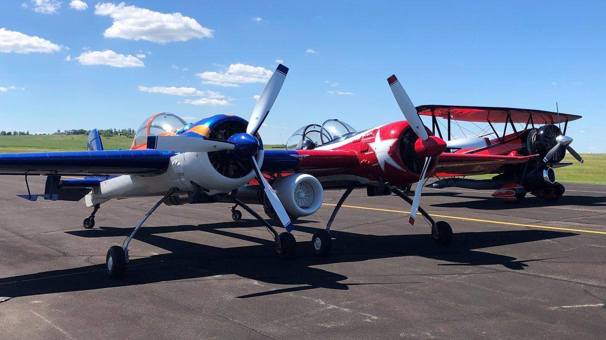 A Yak 110 and restored jet Waco