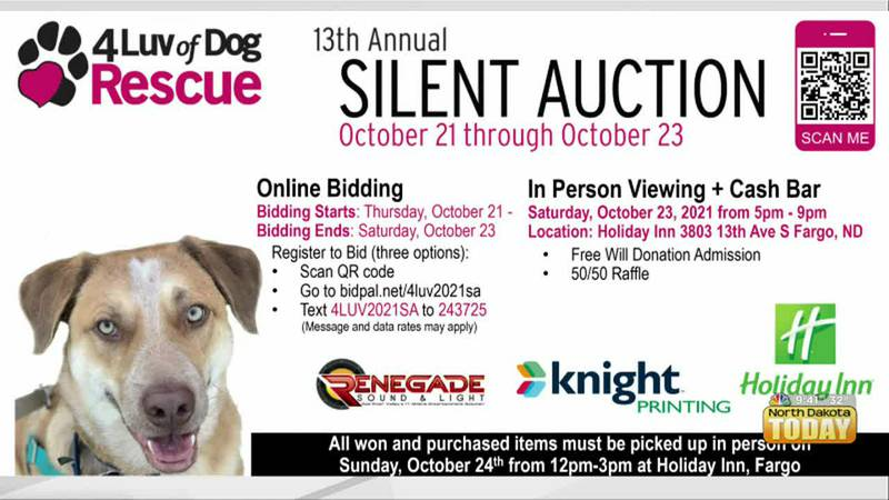 NDT - 4 Luv Of Dog Rescue Fundraiser - October 22