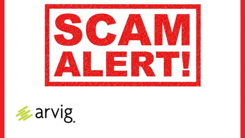 Arvig Scam Alert