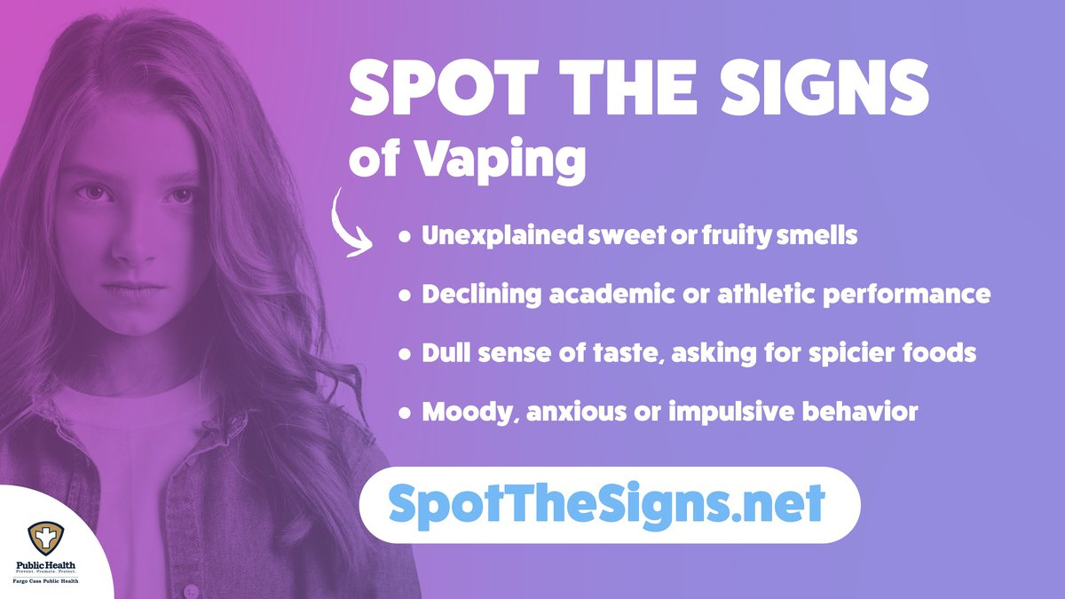 Spot the Signs anti-vaping campaign