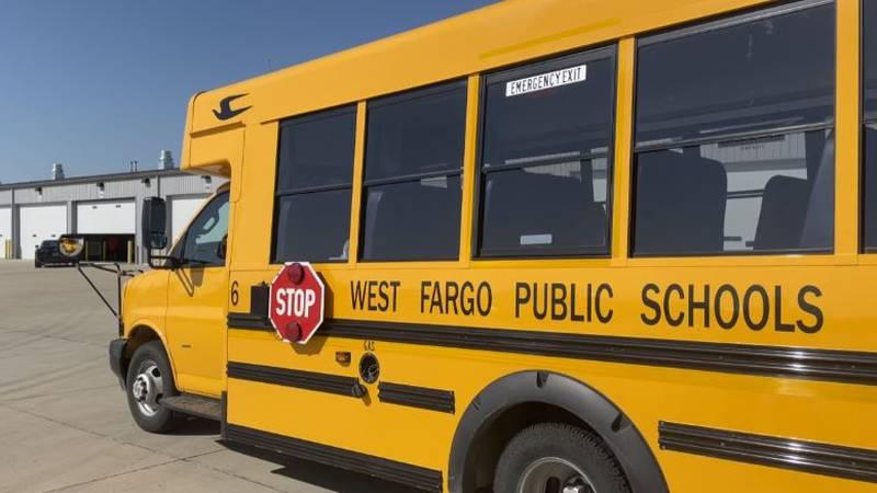 West Fargo Public School Bus