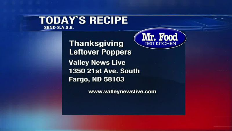 Mr. Food - Thanksgiving Leftover Poppers - November 27