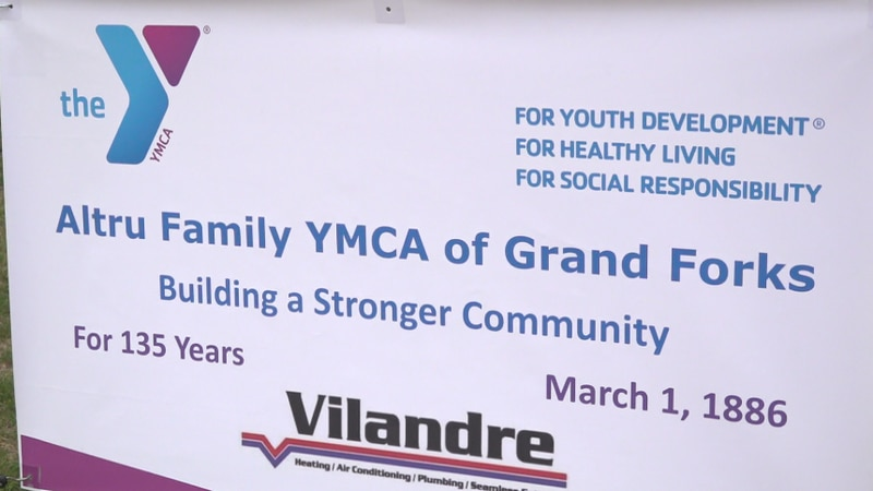 The Grand Forks YMCA celebrated 135 years after opening its doors in 1886.
