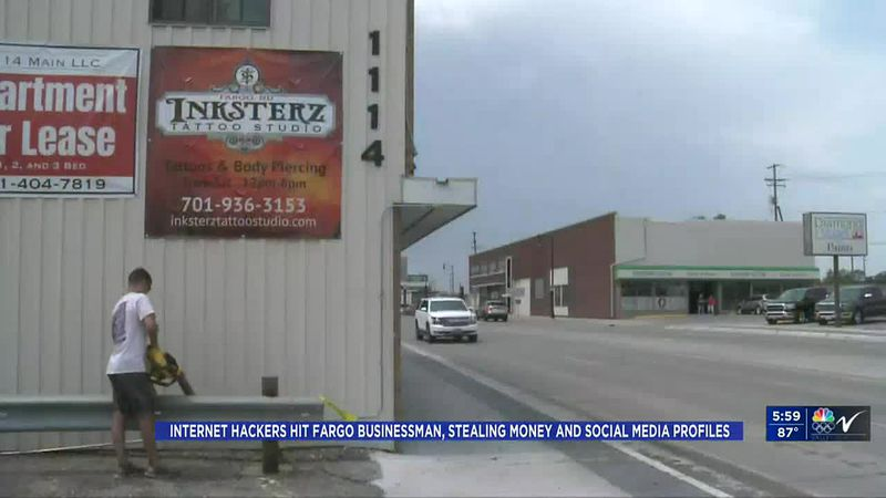 Valley News Live at 6:00PM KVLY - Internet hackers hit Fargo businessman