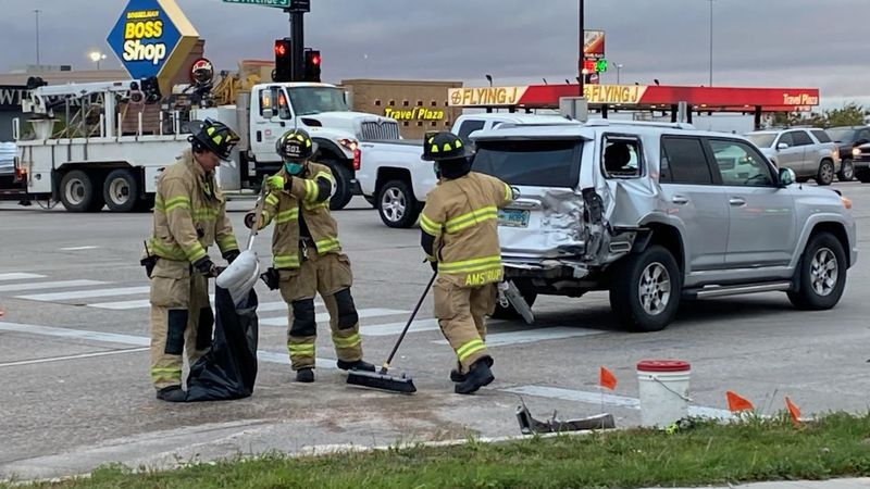 Emergency responders are dispatched to a potential injury accident on the intersection of 32nd...