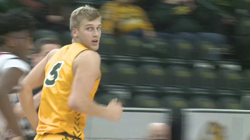 Sam Griesel leads NDSU men's basketball