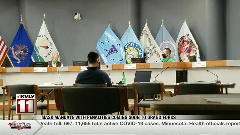 News - Penalties coming soon to Grand Forks mask mandate