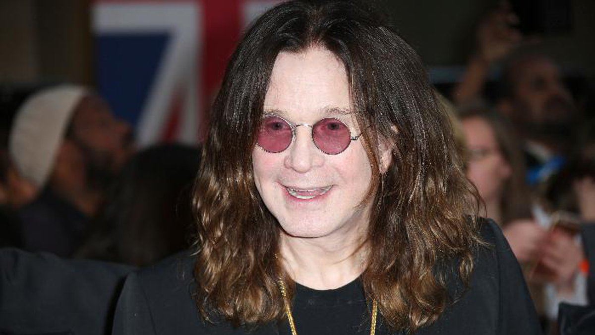 FILE - In this Sept. 28, 2015 file photo, Ozzy Osbourne arrives at the Pride of Britain Awards...