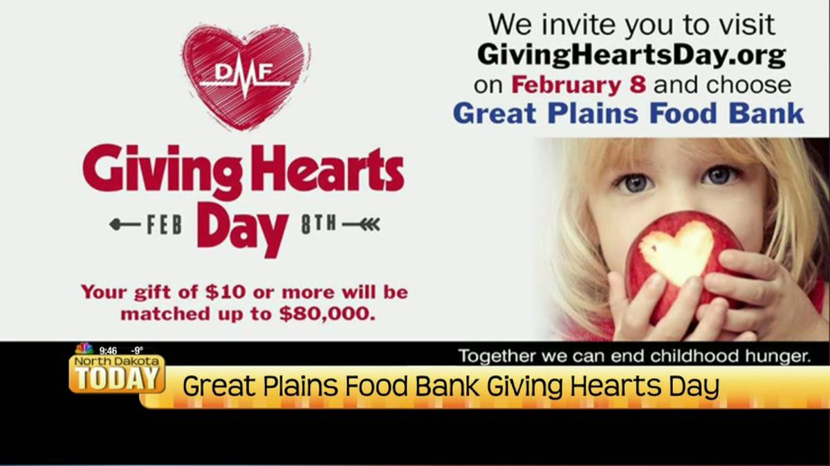 Great Plains Food Bank Giving Hearts Day