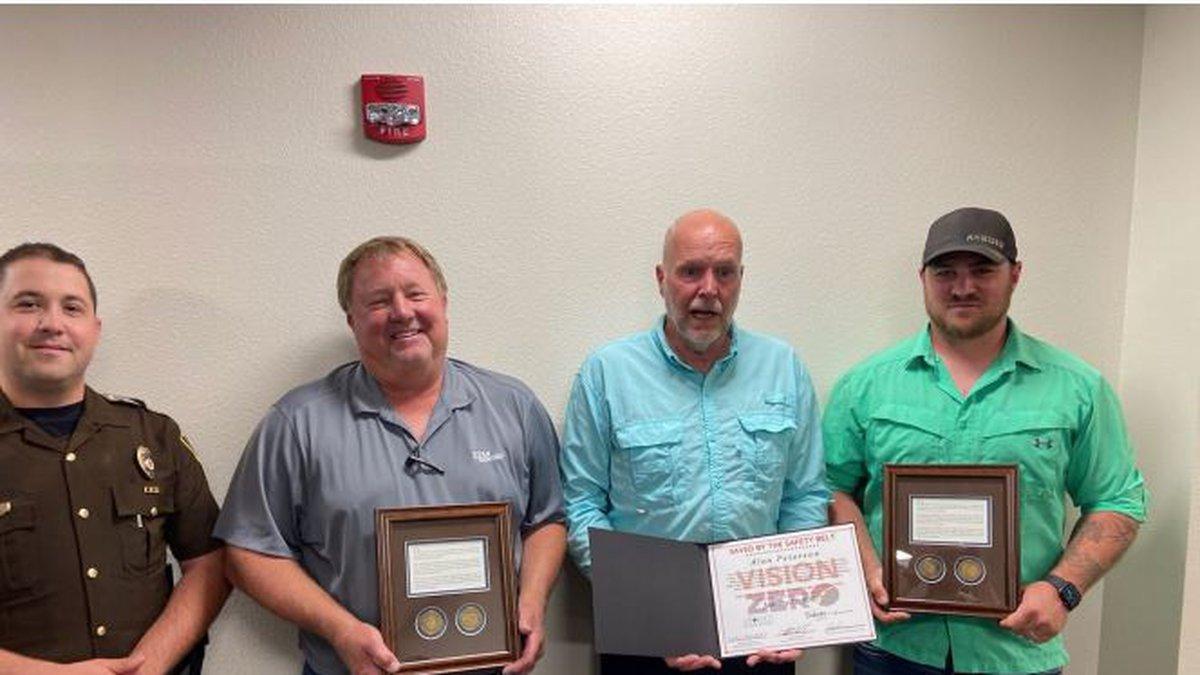 3 people honored