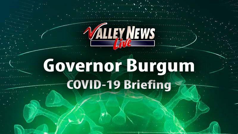 Gov. Doug Burgum News Conference