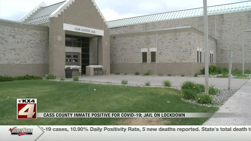 News - Cass County Jail on lockdown after inmate tests positive for COVID-19