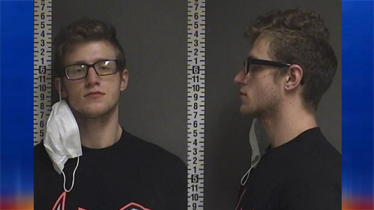 Jacob Brandt (25) was arrested for delivery of heroin.